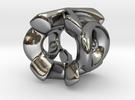XO Charm Heavy in Premium Silver