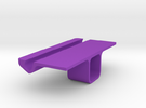 Iphone Wall Stand in Purple Strong & Flexible Polished