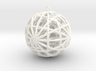 Spheres Pendant in White Strong & Flexible Polished