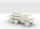 1:144 Berliet Gazelle GBC 8 in White Strong & Flexible