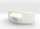 Bracelet Debitmetre V2b 2 in White Strong & Flexible Polished