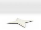 Shuriken in White Strong & Flexible