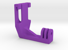 GoPro ScubaMount V2 in Purple Strong & Flexible Polished