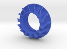 RC turbo Blower Turbine de refroidissement in Blue Strong & Flexible Polished