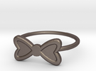 Midi Bow Ring, subtle and chic by titbit in Stainless Steel