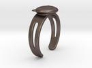Kuma-san (Bear) Ring in Stainless Steel