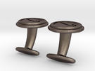 Eye of Horus cufflinks in Stainless Steel