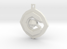OCG Pendant in White Strong & Flexible