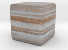Cube Planet : Jupiter, 1inch in Full Color Sandstone