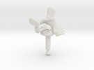 Jack Falls, Jack Protector Audio in White Strong & Flexible