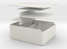 Tabaco box in White Strong & Flexible