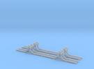 Schmalspur-Prellbock 1:45 (4x) in Frosted Ultra Detail