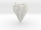 Dortone David 497 Zcorp Plaster Lamp2 in White Strong & Flexible