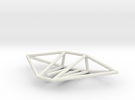 Gecko Wireframe 1-300 in White Strong & Flexible