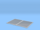 YSD Industries Double 8ft Plate E Door Pair Assy in Frosted Ultra Detail