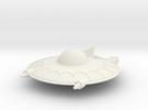 Selenite Violator  Saucer in White Strong & Flexible
