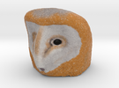 Owl (coloured) in Full Color Sandstone