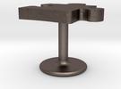 Autism Puzzle Piece Cufflink in Stainless Steel