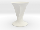 Elvio Vase in White Strong & Flexible