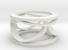 CTR Open Ring Size 12 in White Strong & Flexible