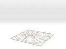 SpiderWebTileStep5 in White Strong & Flexible