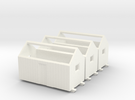 N logging - Bunkhouse (3pcs) in White Strong & Flexible Polished