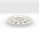 Servo Turnable V23 Plate in White Strong & Flexible