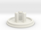 Link JLF U-Cap: LP ShelledFlange in White Strong & Flexible