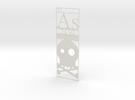 Elemental Bookmark - Arsenic short customization in White Strong & Flexible