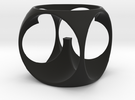 CW-003-EggCup in Black Strong & Flexible
