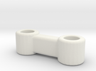 Brio Connector in White Strong & Flexible