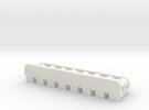 8 Tube Magnetic Rack in White Strong & Flexible