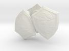 3 zelda shields for lego  in White Strong & Flexible