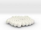 Phi Pendant in White Strong & Flexible
