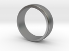 Basic Ring-2 in Raw Silver