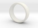 Basic Ring-2 in White Strong & Flexible