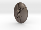 Joyful Dancer Small Pendant No Circle in Stainless Steel