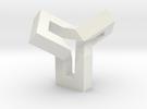 Ovonde (mirror version) in White Strong & Flexible
