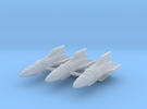 IPF Kestrel Fighter Rocket Wing in Frosted Ultra Detail