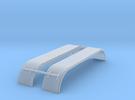 1/87 Kotflügel für 4a Schwerlastzugmaschinen in Frosted Ultra Detail