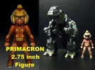 Primacron homage Space Monkey 2.75inch Transformer in Full Color Sandstone