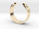 Studded Cuff Ring - Sz. 6 in 14K Gold