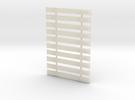 7mm Steel Sleepers x 10 in White Acrylic