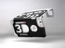Stereoscopic attachment for iPhone 6 Plus in White Strong & Flexible