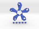 Let Me Grab You!  • Hook  / Fridge Magnet [5pcs] in Blue Strong & Flexible Polished