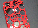 IPhone 4/4S - Cell Case in White Strong & Flexible Polished