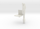 Right Shoulder Rocket MP-10 in White Strong & Flexible