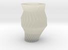 Gear Vase in Transparent Acrylic