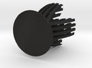 Sliced Egg Holder in Black Acrylic
