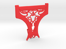 "Google Cardboard (v1) SweatGuard ""El Toro"" in Red Strong & Flexible Polished"